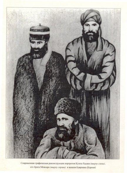 Речь кунта-хаджи в шалях 1864 году