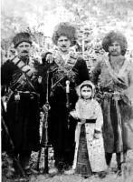 1920-1930 гг.. Чечня. Абреки из с.Хилдехарой